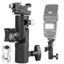 Camera Flash Speedlite Mount,Professional Swivel Light Stand Light Bracket E3U4
