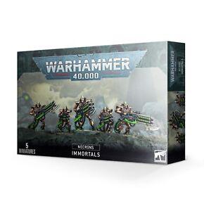 Warhammer 40,000 - Necron Immortals / Deathmarks - 49-10 - BNIB