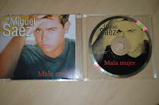 Miguel Saez - Mala mujer. CD-Single (CP1708)