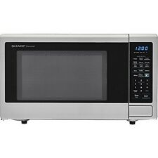 Sharp SMC1842CS Carousel 1.8 Cu. Ft. 1100W Countertop Microwave Oven NEW