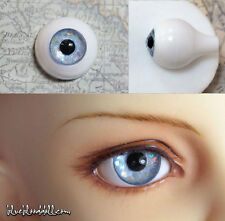 12mm acrylic bjd doll eyes Glitter Light Blue full eyeball dollfie AE-43 Ship US