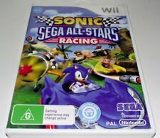 Sonic & Sega All Stars Racing Nintendo Wii PAL *Complete* Wii U Compatible