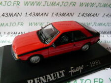 RE13E Voiture 1/43 M6 norev/Universal Hobbies : RENAULT fuego 1981