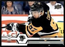 2019-20 UD Series 1 Base #100 Sidney Crosby - Pittsburgh Penguins
