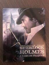 Sherlock Holmes: A Game of Shadows - Steelbook (Blu-ray + DVD) HMV