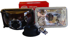 165mm  H4656  H4666 H4 EURO HEADLIGHTS WITH CITY LIGHTS