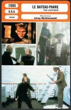 LE BATEAU PHARE - Duvall,Brandauer (Fiche Cinéma) 1985 - The Lightship