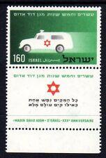 Israel - 1955 55 years Red Star Mi. 118 MNH