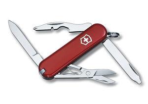 Victorinox Schweizer Taschenmesser Rambler rot mit Gravur Geschenk Wunschname