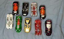 Lot of 9 1990s Hot Wheels Power Rocket/Funny Cars