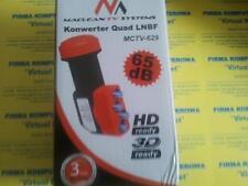 QUAD LNB 0,1 dB SKY 3D FULL HD TAUGLICH DIGITAL NEU