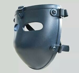 Ballistic Bullet Proof mask 3A level, tactical defense face mask, STOPS .44 MAG