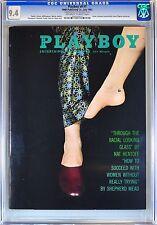 Playboy July 1962 | CGC 9.4 Near Mint | Janet Pilgrim | Highest Grade