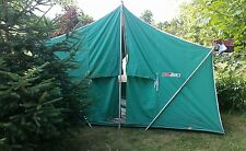 Vintage Canvas Tent Coleman American Heritage Camping 11 x 8 1970s Large Peaked