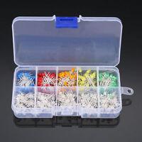3mm LED Sortiment 300 Stück 10 Wert Runde Leuchtdioden LEDs helle Dioden DIY-Kit