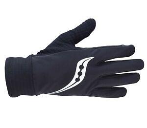 Saucony Unisex NOMAD Running Gloves, SA90479-BK ( Medium )