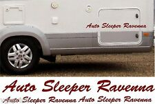 AUTO SLEEPER RAVENNA 4 PIECE KIT DECALS STICKERS CHOICE OF COLOURS & SIZES #023