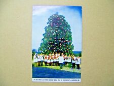 Jackson Maryland MD Baltimore and Ohio RR Railrod Holly Tree Tracks Choir