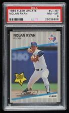 1989 Fleer Update Nolan Ryan #U-67 PSA 8 HOF
