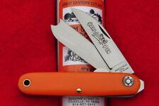 Great Eastern Cutlery #35 Farm & Field Calf Pen Jack Knife - Orange Delrin USA