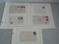 Nystamps Canada Newfoundland old stamp cover collection