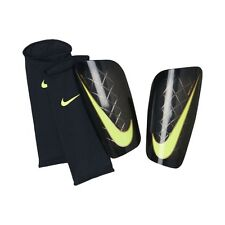 NEW Nike Mercurial Lite Shin Guard Pads Soccer Adult Medium Futbol Black Green