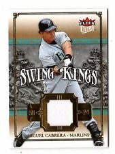 Miguel Cabrera Mlb 2007 Ultra Swing materiales (Florida Marlins Reyes, Tigres)
