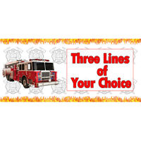 Firemen Note Pads Party Favor 4ct  Birthday Party Favor Fireman Party Supplies