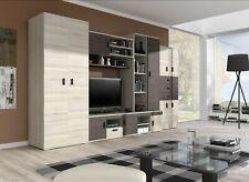 Wohnwand Schrank TV Lowboard Anbauwand Design Elegant Wohnzimmer  Nelly
