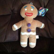 Dreamworks Universal Studios Plush Doll Shrek 4-D Stuffed Gingerbread 2012