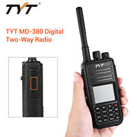 MD-380 1000CH UHF 400-480MHz Digital DMR 2 Way Radio Transceiver GPS CTCSS/DCS