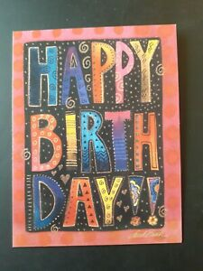 """Funny Birthday Card ~ Leanin' Tree ~ Notions ~ Smaller Cards 4"""" x 5"""""""