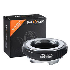 K&F Concept M42-L/M Lens Mount Adapter for M42 Lens to Leica L/M Camera Body