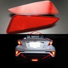 For Toyota C-HR CHR 2016 2017 Rear Brake LED Fog Light Reflector Lamp Assembly