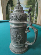 Old Masters Lidded Pewter Stein Dutch Masters of the 17th century