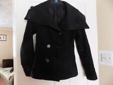 H&M Patternless Casual Plus Size Coats & Jackets for Women