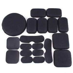 Tactical Fast Helmet Inner Cushion Pad w/ Hooks Sticker Gear Helmet Accessories