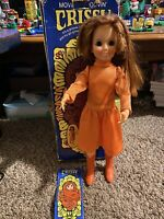 Ideal 1971 Movin' Groovin' Crissy Doll Growing hair wind up vintage Chrissy 18""