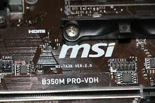 Mainboard MSI B350M PRO-VDH