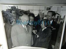 More details for soviet khrushchev 1961 original photo british trade visit mather platt 10x8