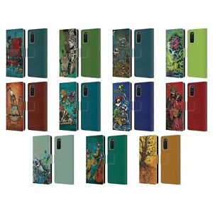 OFFICIAL DAVID LOZEAU COLOURFUL ART LEATHER BOOK CASE FOR SAMSUNG PHONES 1