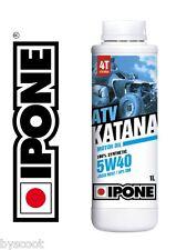 Huile IPONE 5W40 4t ATV QUAD 100% Synthèse Bidon 1 Litre NEUF oil