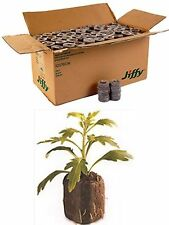 1000 Count (Full Case) - Jiffy 7 Peat Pellets - 36mm