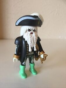Playmobil Halloween Ghost Pirate Custom Figure
