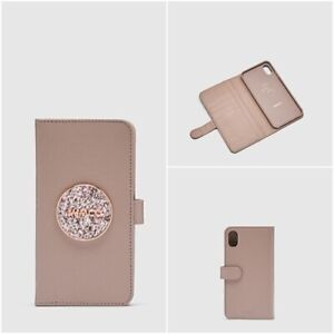 MIMCO FLIP CASE FOR IPHONE XS MAX - Bliss Balsa - RRP $99.95 - 100% Genuine