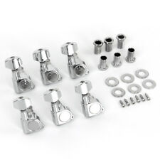 6R Inline Tuning Key Pegs Tuners Machine Heads for Fender ST TL Guitar Parts