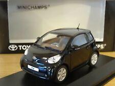 MINICHAMPS TOYOTA IQ 2008 BLACK CAR MODEL TYTIQ 1:43