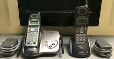 Panasonic KX-TG5422M 5.8 GHz Twin 1-LINE Cordless Phone 2 Handsets
