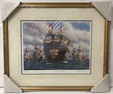 Mark Myers Sailboat Jean Fleury Attack Painting Signed & Numbered 363/950