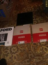 Photographic Paper 8×10 Lot